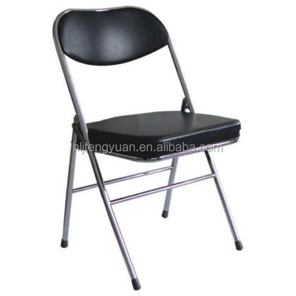 China produce metal industrial cheap folding chair