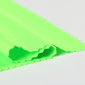 Custom Cheap Green 100% Polyester Net Cloth Material Fabric for Garment