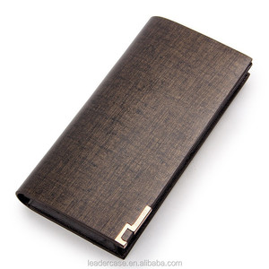 2015 Best Selling Camel Genuine Human Leather Wallet