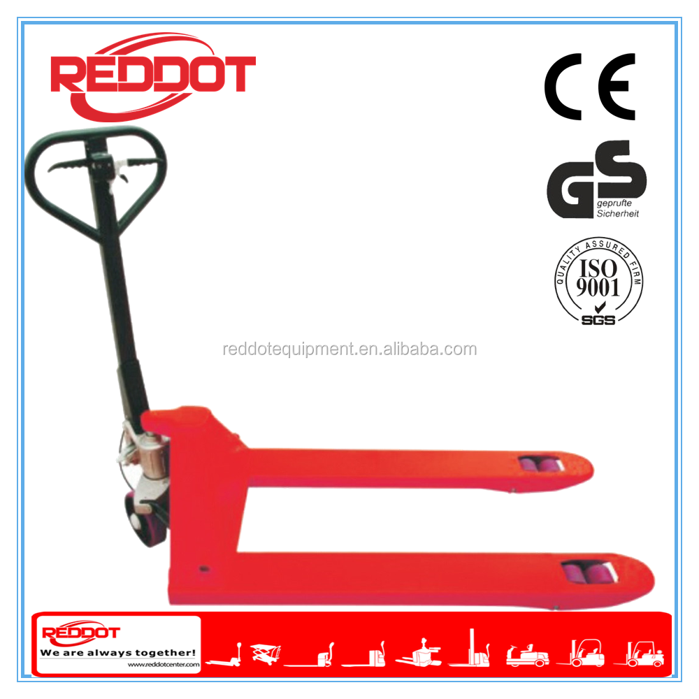 2.5ton hydraulic pallet truck with hand brake for sale