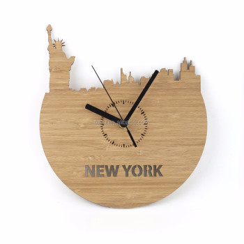 customized decorative wood wall clock