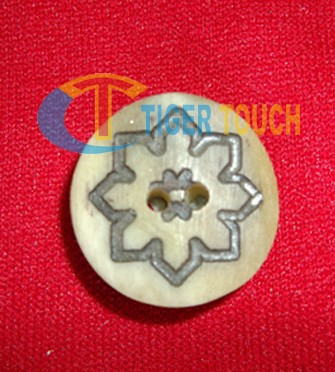 Bone Buttons star logo Bavarian Trachten Typical Bavarian Horn Buttons lederhosen plastic metal button