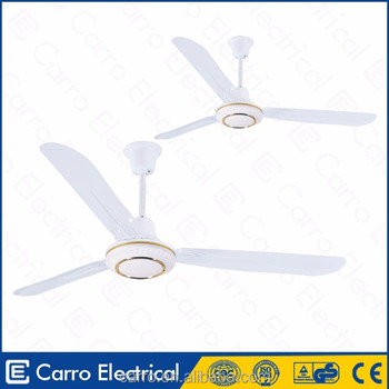 48 inch 12v 22w 3 Blades 320RPM Metal Rechargeable Dc Ceiling Fan