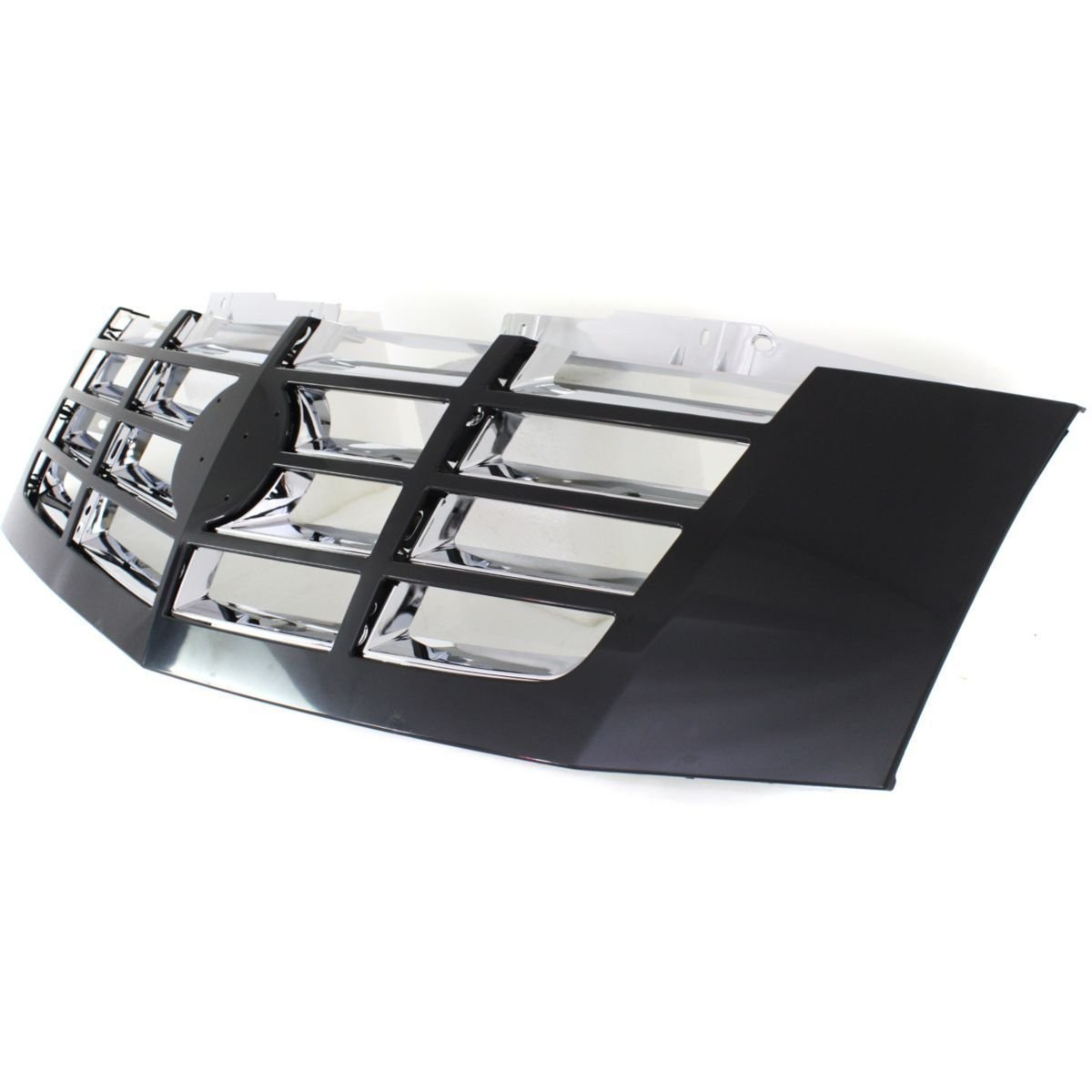 Diften 102-A6464-X01 - New Grille Assembly Grill Black shell chrome insert Escalade GM1200619 20824256