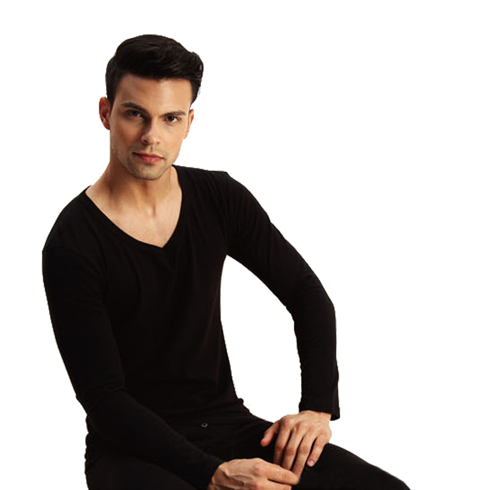 High Quality Brand Cueca 2015 Winter Solid Color Lycra Cotton Thermal Underwear Suits Men Long Johns Fashion Cuecas Sexy Masculi