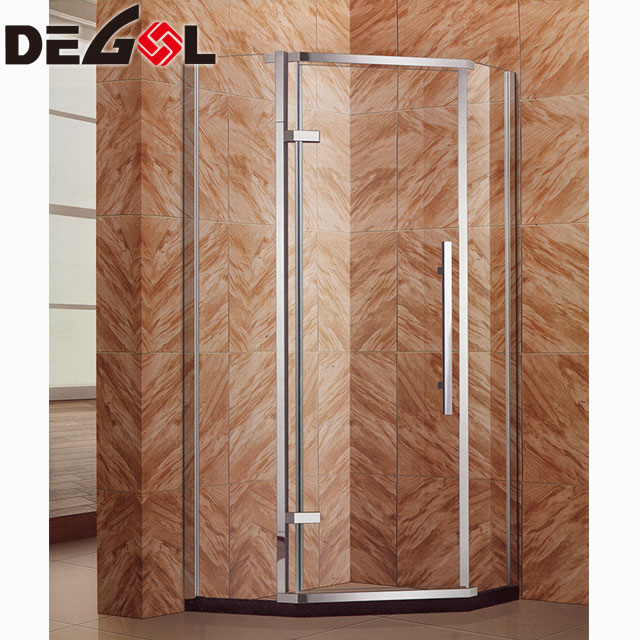 2018 New Design Fully Enclosed Moulded Stainless Steel Shower Room ...