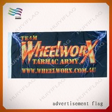 Custom flag banner promotion gift items for kyrgyz republic election