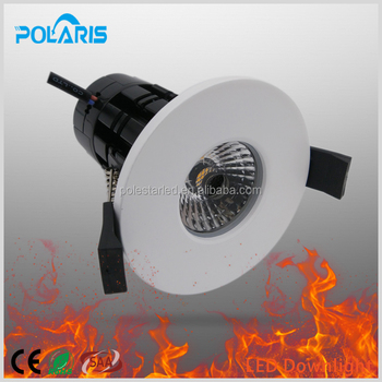 10w Led Downlight Cob Cut Out 70mm Anti-glare Glass Fire Proof ...