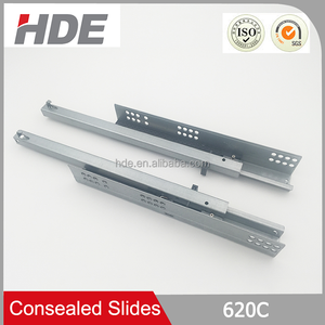 Top quality professional undermount slide tool box concealed drawer slides