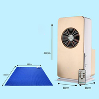 2018 New Electronic Invention Mini Air-Conditioning Mattress , Heating Cooling Massage Mattress Pad