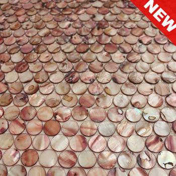 Rosa Runde MosaikmusterRunde Schale Mosaik Fliesen Kmop - Rosa mosaik fliesen