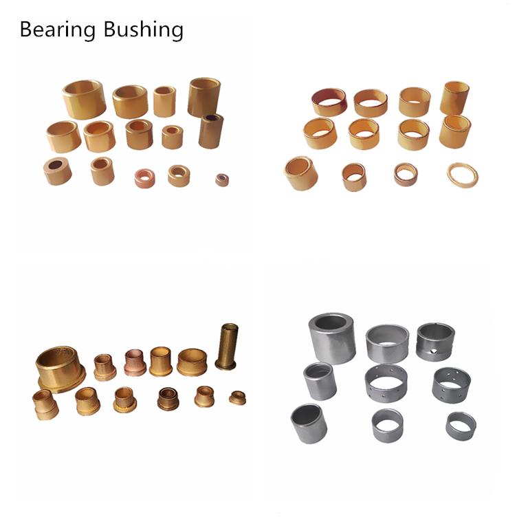OEM Özelleştirilmiş Gözenekli Rulman Toz Metalurji Yağ Emprenye Sinter Bronz Rulman Burç