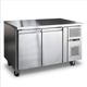 1.2m(4ft) Commercial Stainless Steel Under Counter Top Freezer