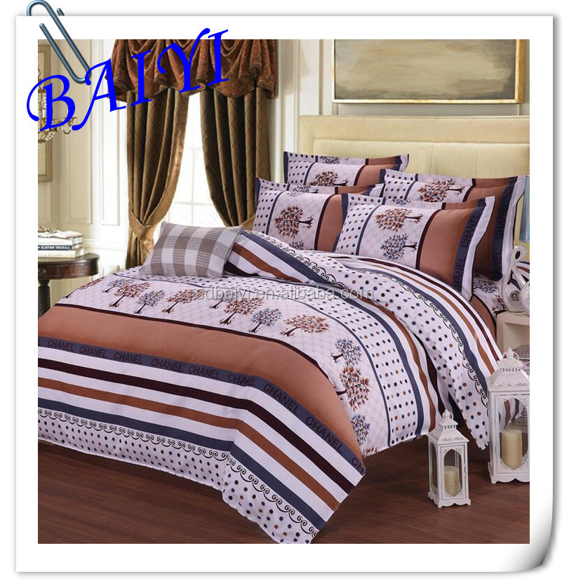 reactive printing bedding set fabric bedding set duvet cover fabric cotton bed linen fabric