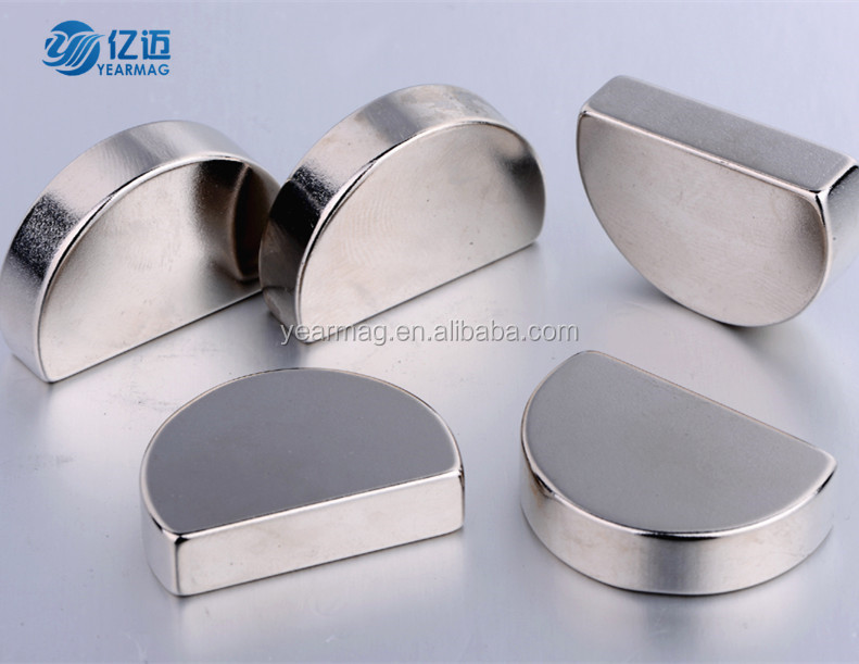 Customized super strong irregular neodymium NdFeB magnet with different sizes