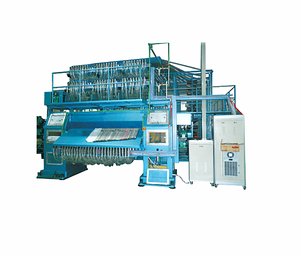 High efficiency high cut & low loop computer jacquard tufted carpet making machine