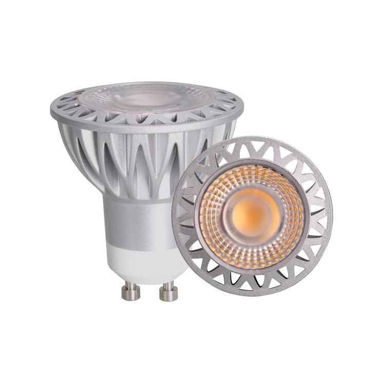 New design 7W COB LED spot light dimmable warm white 2000-3000K color temperature adjustable led spot light