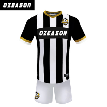 5235a335f Cheap Custom Design Your Own Black Soccer Jersey Kits With Team Logo ...