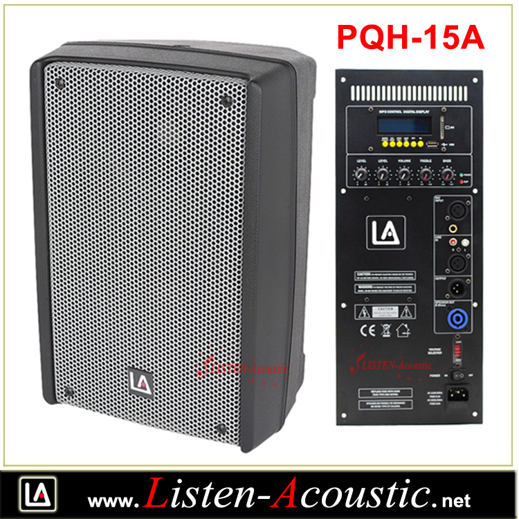Pro Audio Plastic Molded Speakers Cabinet With Bluetooth Pqh-15a ...