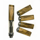 hot sale luxury colored wooden cigar tips for vape pen cbd cartridge HNS glass cartridge 510 thread wood mouthpiece tip