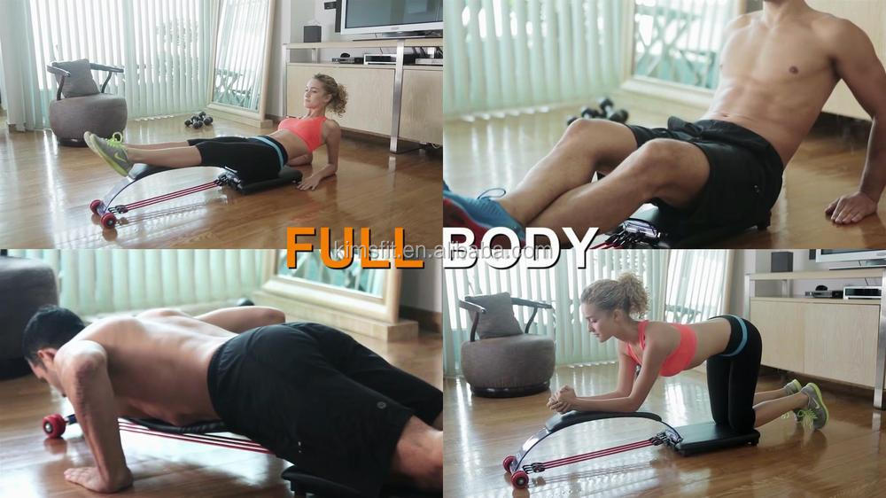 Whole body exerciser abdominal machine AB Flex