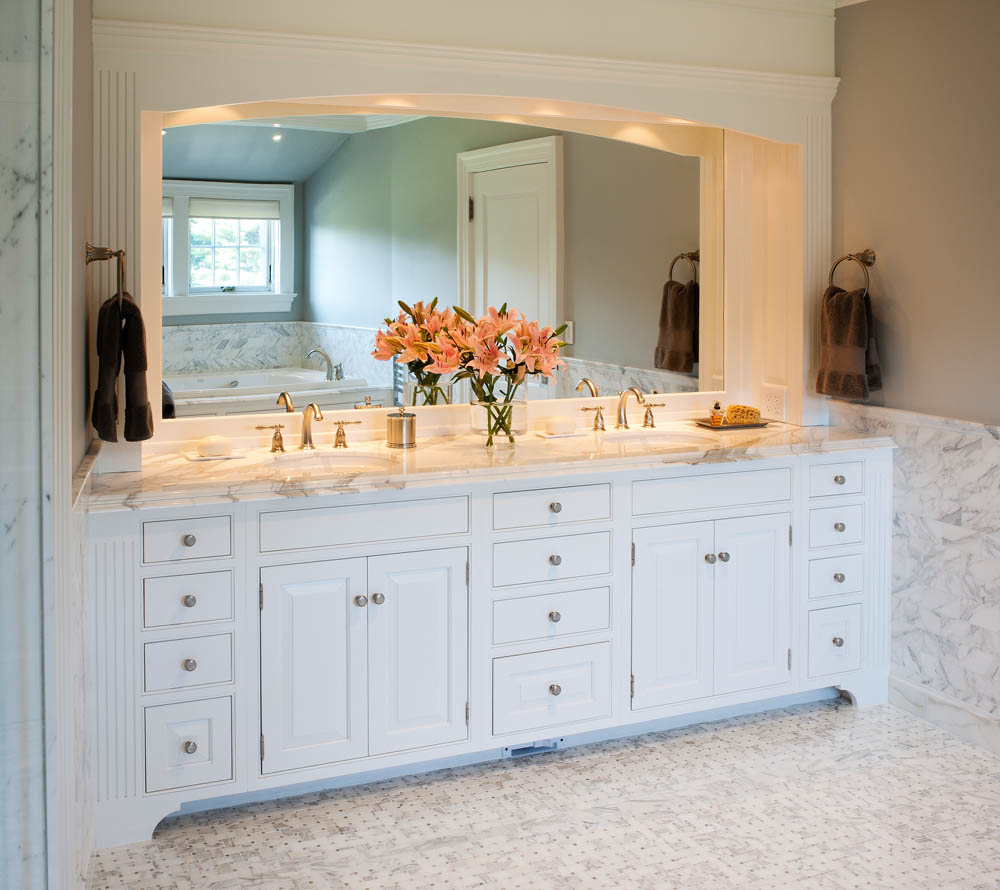 Customized Vanity For Villa,New Design Bathroom Mirror Cabinet ...