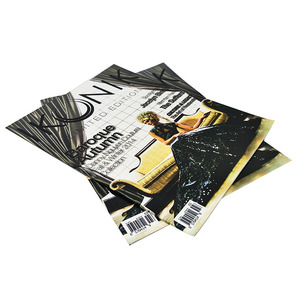 Full color and Professional magazine design and printing