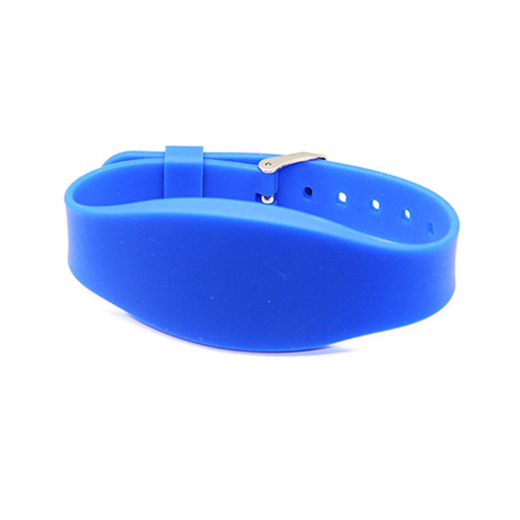 customised smart silicone wristband watch for keyless entry