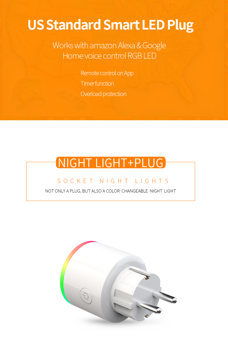 Wifi smart plug EU wifi smart socket mini timer socket 100-240 v 16A afstandsbediening elektrische plug type f tuya smart leven
