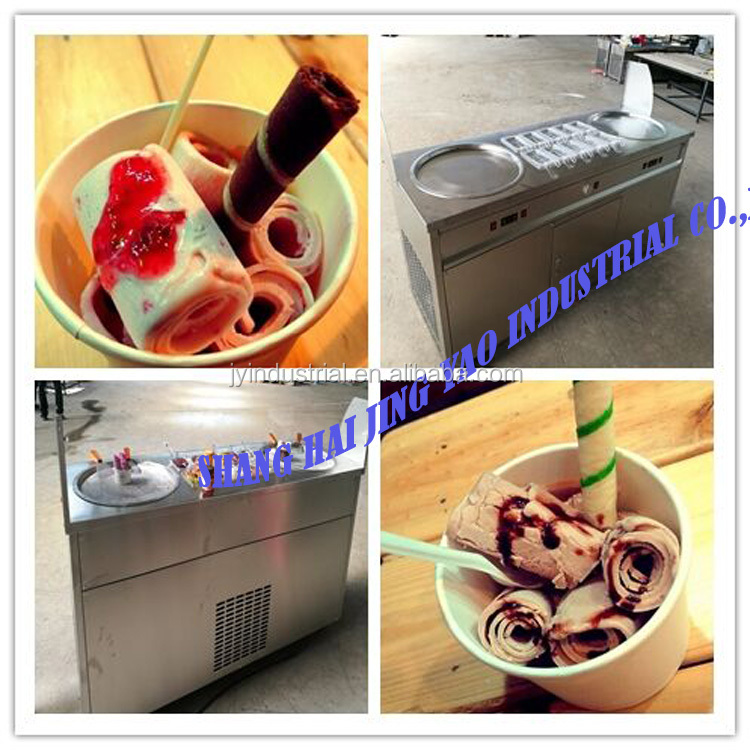 Full Automatic Food Industry fried ice cream machine Cooling Tunnel Machine