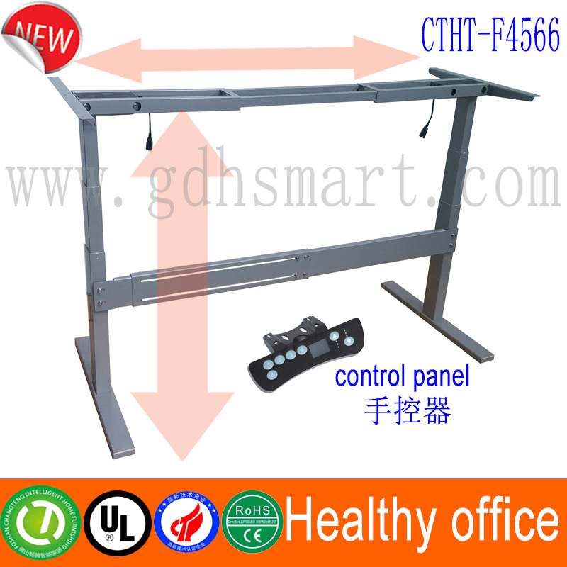 Electric Lift Mechanism Sit And Standing Office Desk Rasing Up Lifting Down Leg