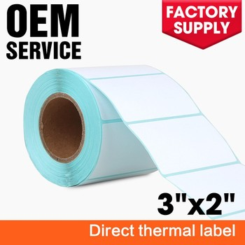 Factory Direct Selling Blank Thermal Self Adhesive Sticky Paper Sticker  Label For Barcode Printers - Buy Blank Thermal Labels,Sticky Paper,Adhesive