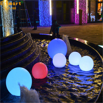 solar light balls luminous led stone lamp illuminated cordless waterproof rechargeable outdoor solar led stone ball light