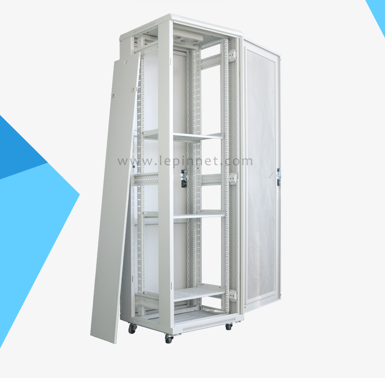 Ningbo network server used steel 19'' 42u 18u floor standing server rack price