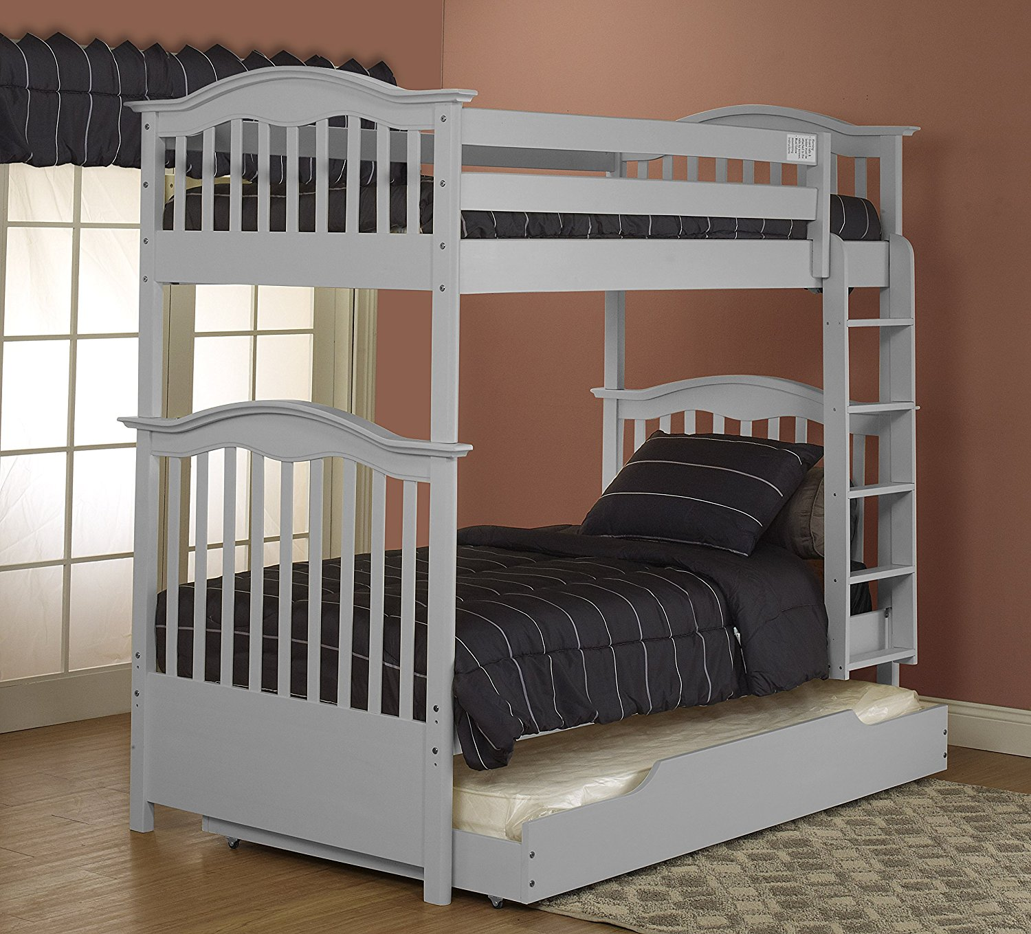 Orbelle Bunk Beds BB 480/39-G Gray