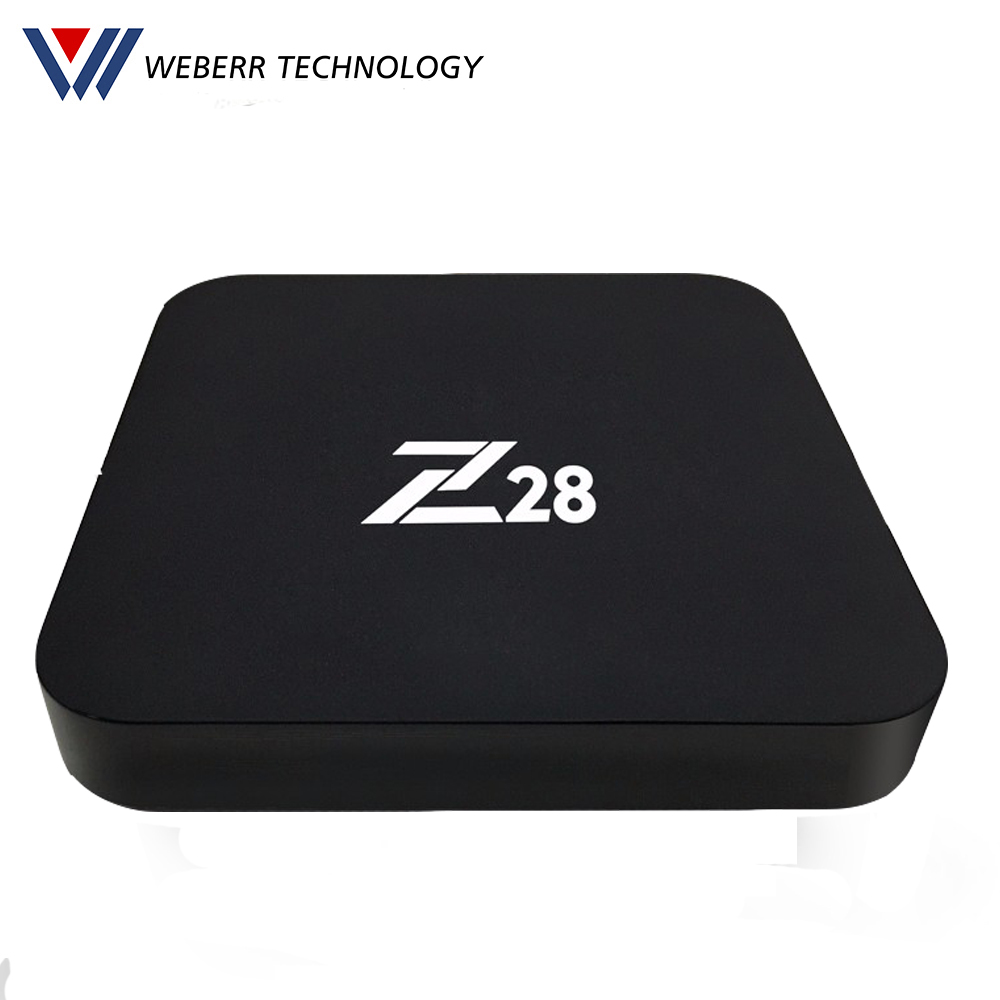 2017 factory Z28 Quad Core Android 7.1 Arabic Ip Tv Box