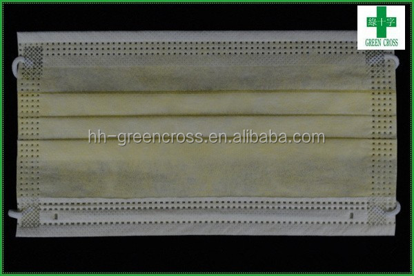 Government purchase disposable 3 ply non-woven surgical face mask