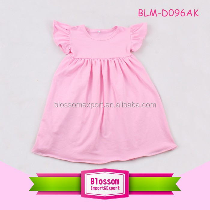 Dress New Baby Frock Design 2017 Fl One Piece Simple Children For