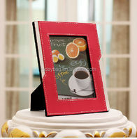 good quality competitive price leather picture photo frame