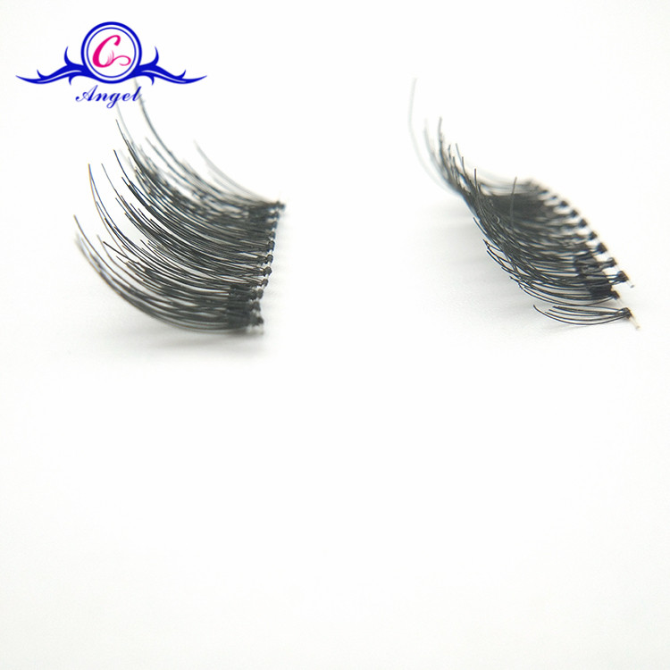 China Premium Suppliers No Glue Easy Wear Magnetic Eyelash Silk Strip Lashes