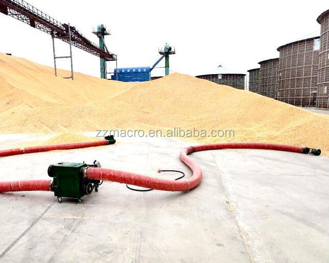 Farm Machinery Flexible Pipe Type Portable Grain Screw Conveyor For Sale