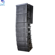 Pro stage equipment Dual 8inch line array 3 way speaker