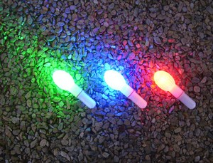 factory supply night fishing led glow stick cheap price underwater fishing light(different colors)