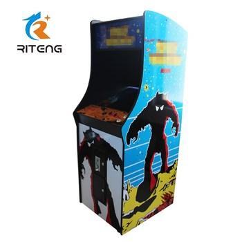 Juegos Retro Maquina De Juegos De Arcade Varias Obras De Arte