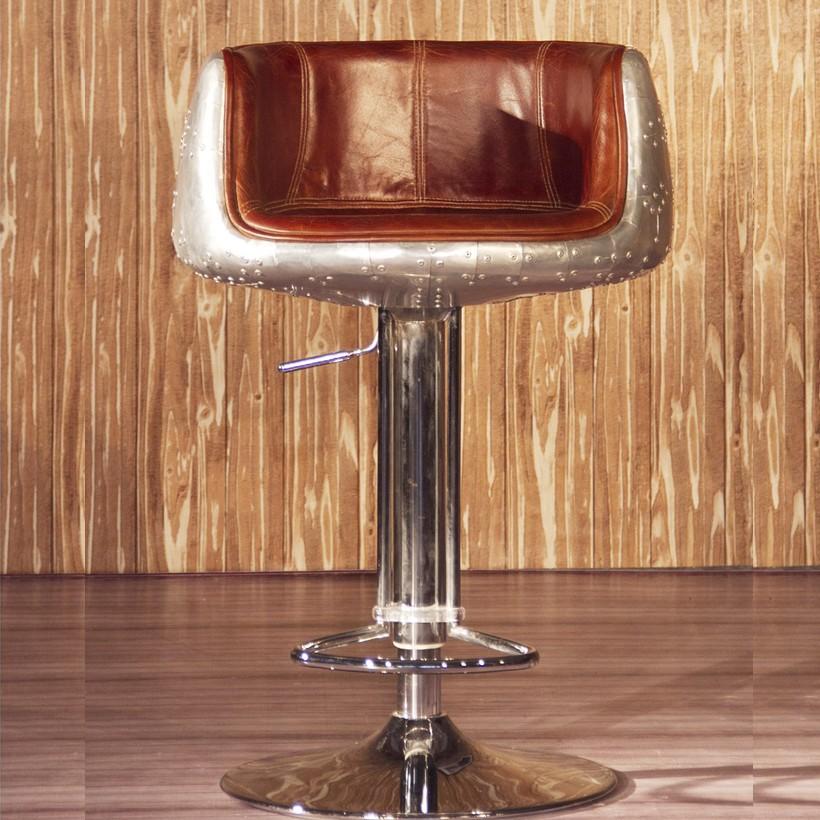 Vintage leather bar