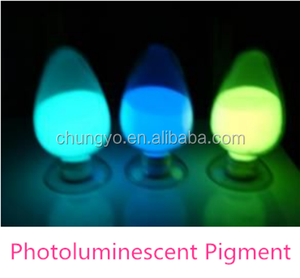 Photoluminescent Pigment Blue-green Glow in the dark Pigment