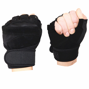 HYL-6999 custom breathable non-slip fitness gym gloves for workout