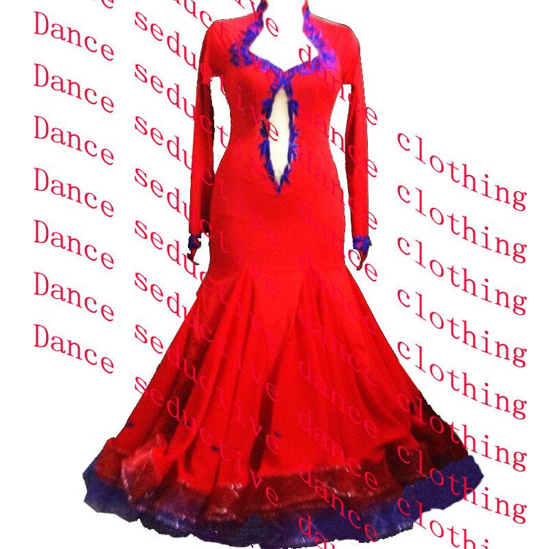886b9260007f Get Quotations · High Quality Waltz Tango dance Dress competitive Ballroom  dance dress, crystal stones dance ballroom dress