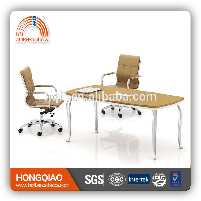 (MFC)HT-23-18 modern conference table stainless steel frame for 1.8M conference tables for sale
