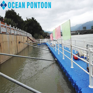 hot sale & high quality floating inflatable boat dock floating bridge floating platform